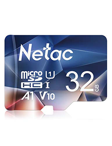 Netac 32G Scheda Micro SD Scheda Memoria A1 U1 C10 V10 FHD 600X UHS-I velocit Fino 90 10 MB Sec Micro SD Card Telefono Videocamera Switch Gopro Tablet Netac 0788125438174 Only Card