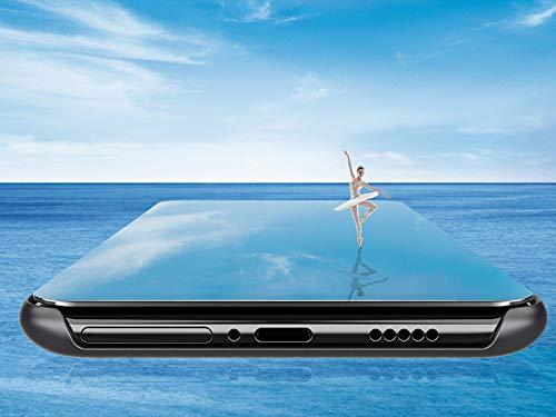 BRAND SET Cover Samsung Galaxy S10 Specchio Placcatura Flip Custodia Funzione Sleep Wake Adatto Samsung Galaxy S10-Viola BRAND SET 3583031258499 Viola Samsung Galaxy S10 CE