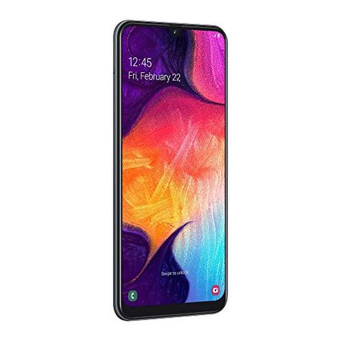Samsung Galaxy A50 Smartphone Display 6 4 Super AMOLED 128 GB Espandibili RAM 4 GB Batteria 4000 mAh 4G Dual Sim Android 9 Pie Versione Italiana Black SAMSUNG 8801643757137 Nero SM-A505FZKSITV CE