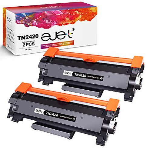 ejet Toner Compatibile Brother TN2420 TN-2410 Brother MFC-L2710DW HL-L2350DW DCP-L2530DW HL-L2370DN DCP-L2510D HL-L2375DW HL-L2310D MFC-L2730DW L2550DN 2 Nero ejet 0052919367903 2 Nero TN2420