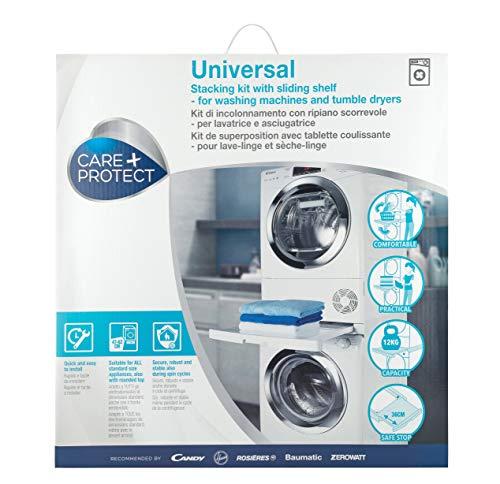 Kit Incolonnamento Universale Ripiano Scorrevole 56 7 60 3 9 cm CARE PROTECT 8016361971127 Bianco 35602039 CE