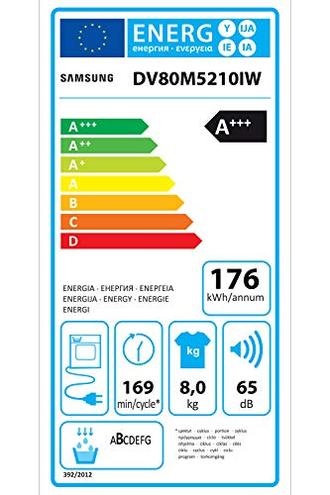 Samsung DV80M5210IW ET Asciugatrice 8 Kg Bianco Samsung Elettrodomestici 8806088754734 Bianco DV80M5210IW ET principali elettrodomestici