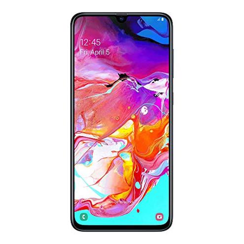Samsung Galaxy A70 Smartphone Display 6 7 Super AMOLED 128 GB Espandibili RAM 6 GB Batteria 4500 mAh 4G Dual Sim Android 9 Pie Versione Italiana Black SAMSUNG 8801643829896 Nero SM-A705FZKUITV CE
