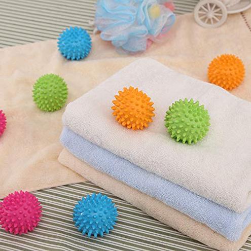 Palle Asciugatrici -Riutilizzabili Resistenti Palle Bucato Asciugatrice Dryer balls lavanderia riutilizzabile all asciugatrice palline asciugatrice Blue Pack of 5 BAINA 0721821102802 Blue Pack Of 5 Cucina