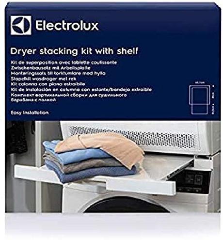 Electrolux Staking Kit Piano Estraibile Tavoletta Accatastamento Lavatrice Asciugatrice Electrolux 7332543575756 E4YHMKP2