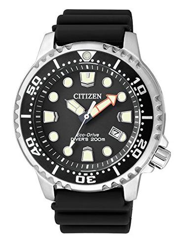 Citizen BN0150-10E Orologio Uomo Citizen 8018225016425 Nero Nero Promaster Marine Orologio