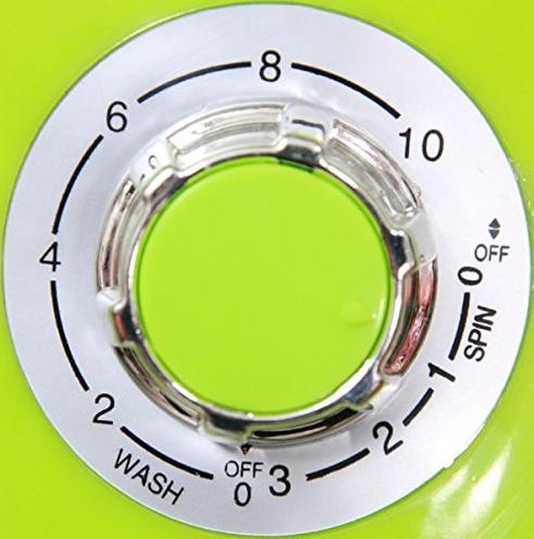 Syntrox Germany WM-380W - Lavatrice campeggio centrifuga mini lavatrice verde Syntrox Germany 4260420740948 Verde Drogheria