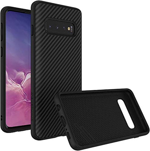 RhinoShield Case Compatible with Samsung Galaxy S10 SolidSuit - Shock Absorbent Slim Design Protective Cover - Compatible Wireless Charging 3 5M 11ft Drop Protection - Carbon Fiber Texture RhinoShield 0888543005726 Samsung Galaxy S10 - Carbon Fiber