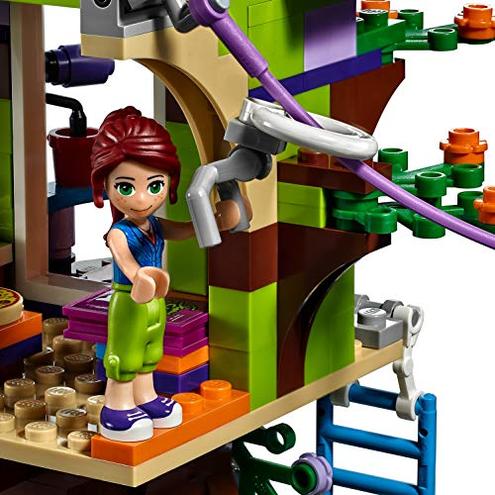 LEGO Friends Casa sull'Albero Mia Playset Casa sull'Albero Heartlake City Mini-doll Mia Daniel 41335 LEGO 0758710717847 Multicolor 41335 Giocattolo