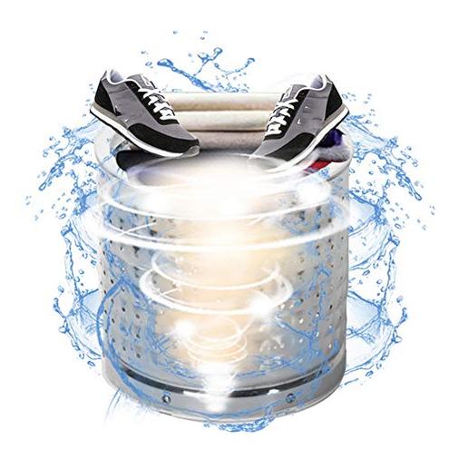 Scarpe Lavatrice Lavabiancheria portatile Lavasciuga centrifuga compatta Cestino tubo scarico appartamenti dormitori campeggi LRZ 7428854904214
