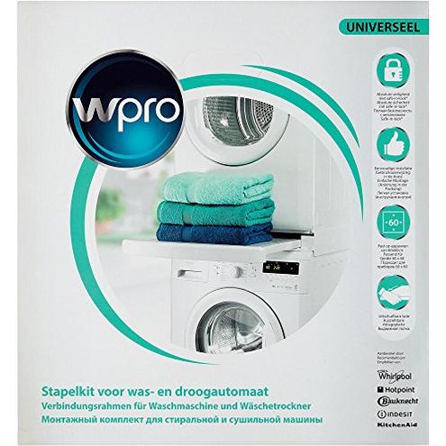 Wpro SKS101 Kit accatastamento lavatrici asciugatrici Wpro 8015250441444 Bianco SKS101 principali elettrodomestici