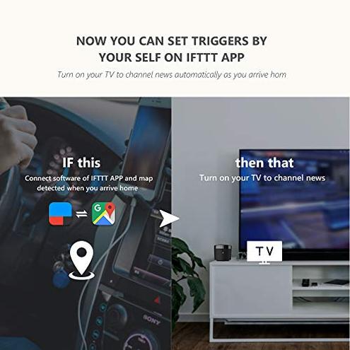 Broadlink - RM4 Mini - Telecomando universale IR audio video hub remoto WiFi casa intelligente compatibile Alexa RM4 mini broadlink 6924826703362 RM4 mini