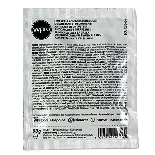 Indesit Detergente Anticalcare Lavatrici Lavastoviglie 12 pz Indesit 8007842119725 bianco HPTC00308432