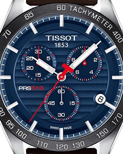 Orologio Tissot PRS 516 T1004171604100 Tissot 7611608282656 Marrone T1004171604100