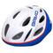 Casco ciclismo Briko Pony (Colore: bianco-blu-rosso, Taglia: UNI)
