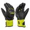 Guanti sci Leki WC Race Coach Flex S Gtx (Colore: nero-giallo, Taglia: 6J)