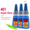 1PCS 401 Instant Fast Adhesive 30ML Bottle Stronger Super Glue Multi-Purpose Fix HOT Super...