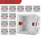Adjustable 86 Switch socket Box,Mount Back Box Plasterboad 50mm Depth Wall Switch Wall Soc...