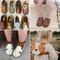 Donsje Real Leather ! Kids Brand Shoes Lovely Animal Toddler Boys Girls Fall Winter Shoes...