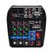 A4 Sound Mixing Console Bluetooth USB Record Computer Playback 48V Phantom Power Delay Rep...