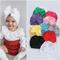 2020 Baby Headband Cotton Soft Bowknot Turban Hair Bands for Children Girls Elastic Headwr...