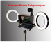 2020 New Portable Prompter Smartphone Teleprompter with remote control for News Live Inter...