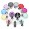TYRY.HU Round Clip Silicone 3pc/set Pacifier Clips Holder Silicone Dummy Chain Accessories