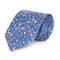 Cravatta su misura, , Floral Blu Elettrico, Quattro Stagioni |
