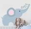 Adesivo elefante con nome