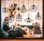 Adesivo murale illusione ottica lanterne