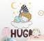 Sticker murale bambino nel sonno personalizzabile