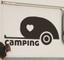 Adesivo per carrozzeria amore per il campeggio