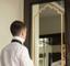 Adesivo per specchio cornice effetto elegante