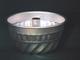ITALO OTTINETTI Stampo alluminio americano festonato con tubo 16 Pasticceria