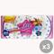 Set 3 LILLÀ X 16 Profumata Carta Igienica Accessori per il bagno