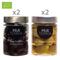 4 vasetti misti da 314 ml: 2 Leccino - 2 Bella di Cerignola in salamoia