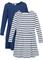 Abito di jersey (pacco da 2) (Blu) - bpc bonprix collection
