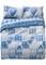 Biancheria letto Cuori Tartan (Blu) - Euronova