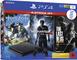 PlayStation 4  - Hits Bundle (1TB, schwarz, slim) inkl. Uncharted 4, The Last of Us, Horiz...