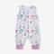 Pagliaccetti casual O-collo maniche corte stampa floreale baby per 6-24 m