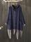 Cappotto con cappuccio manica lunga patchwork stampa velluto a coste