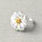 Trendy crisantemo piccola daisy fiore donna anelli selvatici piccoli gioielli con diamanti...