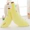 Peluche Morbida a Forma di Banana Creativa Cuscino Imbottito a Emoji Regalo di San Valenti...