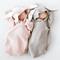 Cute Sleepbag a forma di coniglietto lavorato a maglia per 0-12M