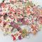 100Pcs 25mm Wooden Pentagonal Painted Pulsanti Knitting Sewing DIY Materiali