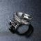 Anelli da dito vintage cinesi Drago Anelli in acciaio inossidabile multistrato Gioielli et...