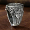 Anello in acciaio inossidabile di Anubis dell'antico Egitto di personalità vintage per gli...