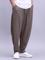 Mens 100% cotone leggero traspirante gamba larga sciolto Yoga casual Pantaloni