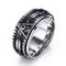 Anelli a dito vintage anelli massonici girocolli in acciaio inossidabile per uomo