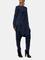 Tuta Harem casual a maniche lunghe con cerniera a maniche lunghe tinta unita Pantaloni